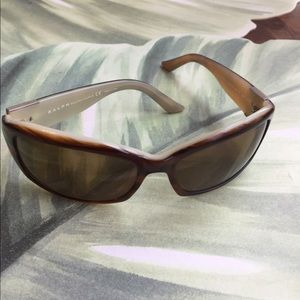 RALPH LAUREN BROWN & BEIGE SUNGLASSES